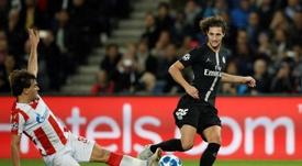 Rabiot confirmou propostas da Juventus e do Manchester United. EFE
