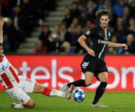 Rabiot está a escassas horas de ser jogador da Juventus. EFE