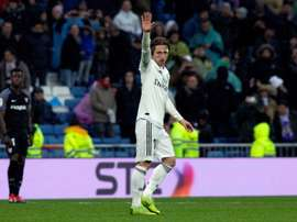 Modric a joué 200 matches en Liga. EFE/Archivo