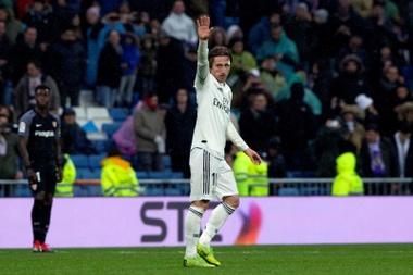 Messi scored a brace against Eibar on Sunday. GOAL
