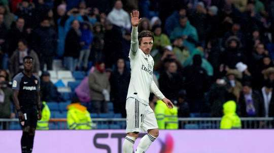 Modric reaches 200 matches for Madrid. EFE