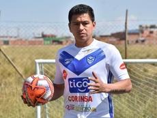 Carlos Saucedo quiere ser histórico cerca de los 40. EFE