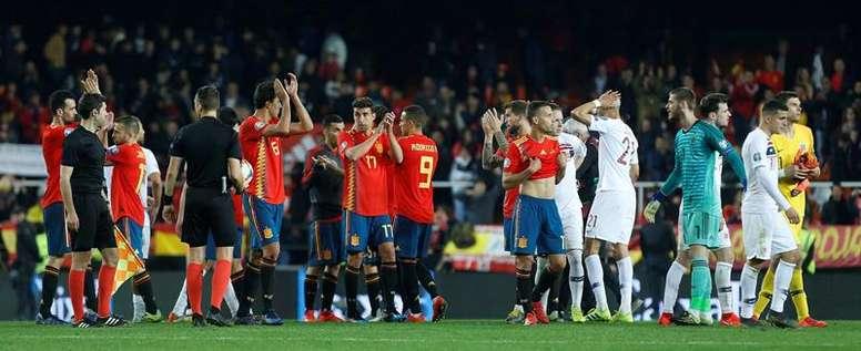 El día que Noruega le ganó a España por primera vez. EFE