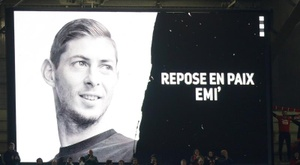 They will pay tribute to Sala. EFE