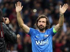 Pirlo mostró su preferencia por la Juventus. EFE