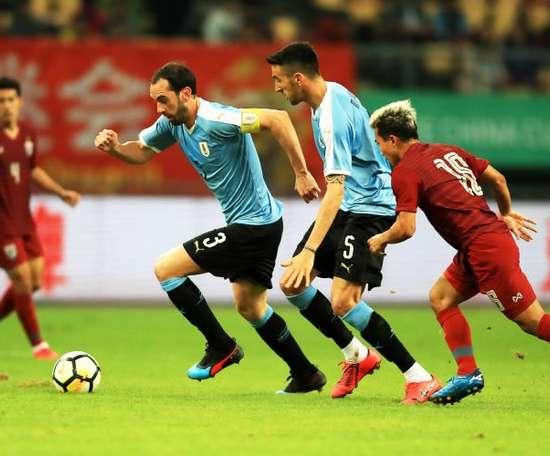 Tabárez sacó conclusiones de la China Cup. EFE