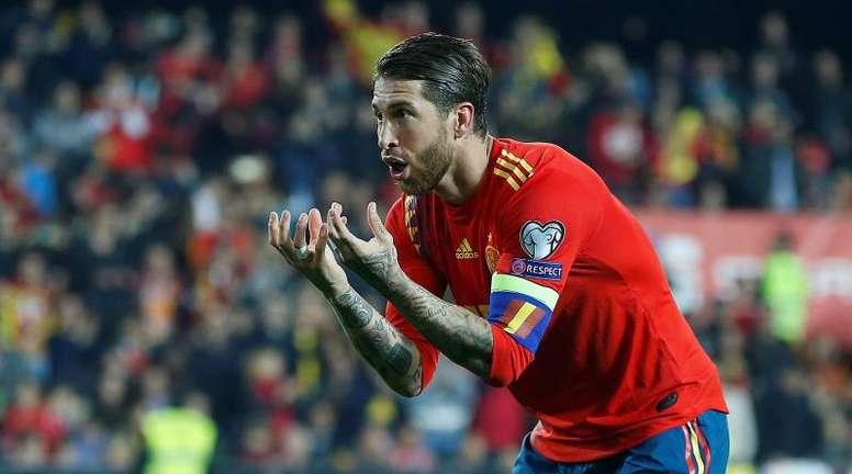 Desaconsejan a Ramos y Ceballos el doblete de Eurocopa y Juegos Olímpicos. EFE/Archivo