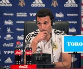 Messi estará na lista de convocados da Argentina para a Copa América. EFE