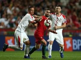 Rafa Silva could move to the Premier League. EFE