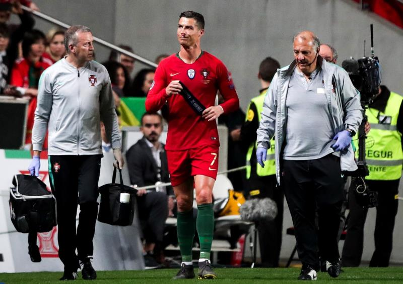 Cristiano Ronaldo injury: Juventus release statement after Portugal star suffers setback