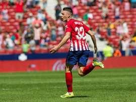 El prometedor jugador del Atlético tendrá que pasar por la enfermería. EFE