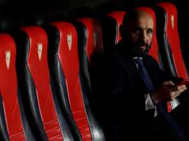 Monchi has written an emotional message before his return. EFE/Archivo