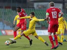 La UEFA expedienta a Ucrania por posible alineación indebida por Junior Moraes. EFE