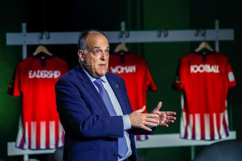 LaLiga celebró su 90 aniversario en el RCDE Stadium. EFE