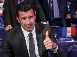 Figo pede a Bola de Ouro para Sergio Ramos. EFE/Archivo