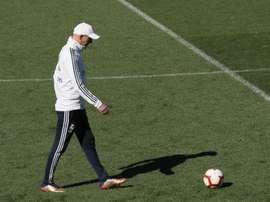 Lucas was in Zidane's plan. EFE