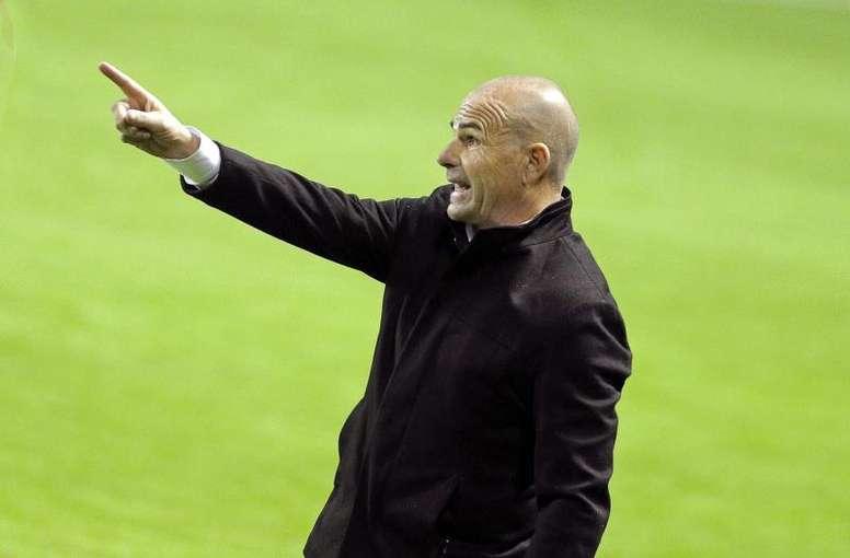 Paco López confía en las posibilidades de su equipo. EFE/Archivo