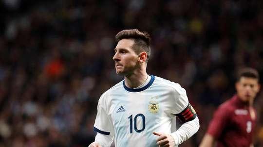 A lista de Scaloni tem Messi mais 22. EFE/Archivo