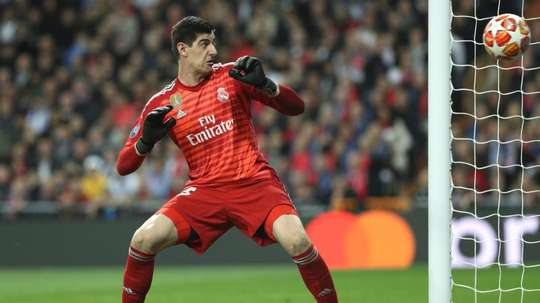 Courtois responded to the questions on Hazard. EFE