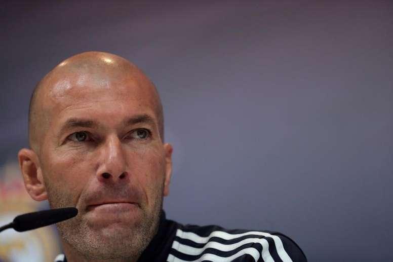 Zidane se acordó de Notre Dame en sala de prensa. EFE