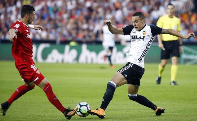 Whilst Atletico decide, Rodrigo trains for Valencia. EFE