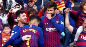 Le onze idéal de la saison 2018-19 de Liga selon BeSoccer. EFE