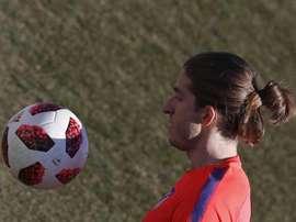 Filipe Luis pourrait prendre la direction du Brésil. EFE