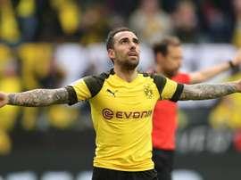 Borussia pede uma grande quantia por Alcácer. EFE/EPA