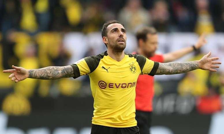 Paco Alcácer revoluciona el Borussia Dortmund. EFE
