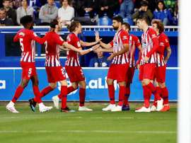 Atletico routed Alaves, but they do not do that often. EFE