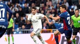 Zidane duda con Brahim. EFE
