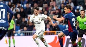 Getafe - Real Madrid: onzes iniciais confirmados. EFE
