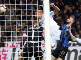 Milinkovic-Savic engancha a la Lazio arriba. EFE
