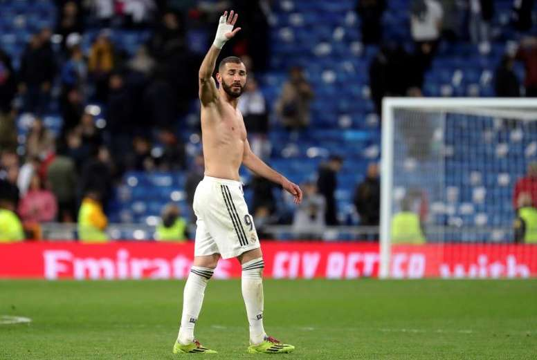 Benzema perdió hasta cinco kilos. EFE