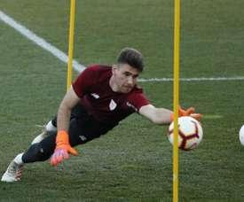 Unai Simón, dans le viseur du Real Madrid. EFE