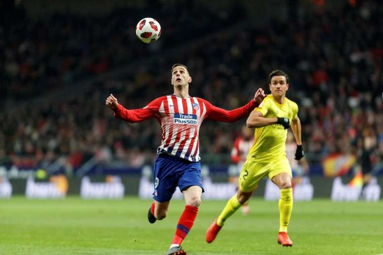 El Atlético, dispuesto a dar a Kalinic y 15 millones por Elmas. EFE/Archivo