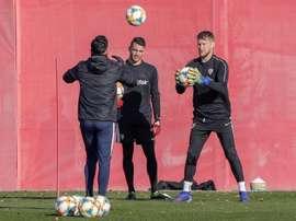 El Sevilla recibe la visita del Alavés. EFE