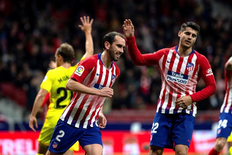 Diego Godín anunció que dejará al Atlético al final de la temporada