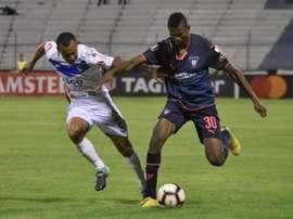 La salsa del fútbol se ausentó en Quito. EFE