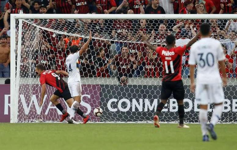 Marco Ruben se cobra su venganza con Boca. EFE