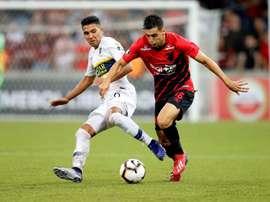 Leo Cittadini, aos 25 anos, interessa ao Valencia. EFE