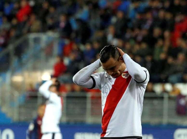 Raúl de Tomás retournera au Real Madrid après sa cession au Rayo. EFE