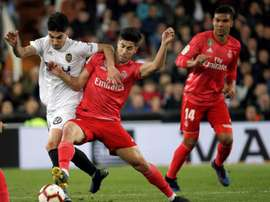 Asensio could be regaining some protagonism under Zidane. EFE