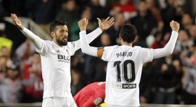 Parejo calló a la afición del Valencia. EFE