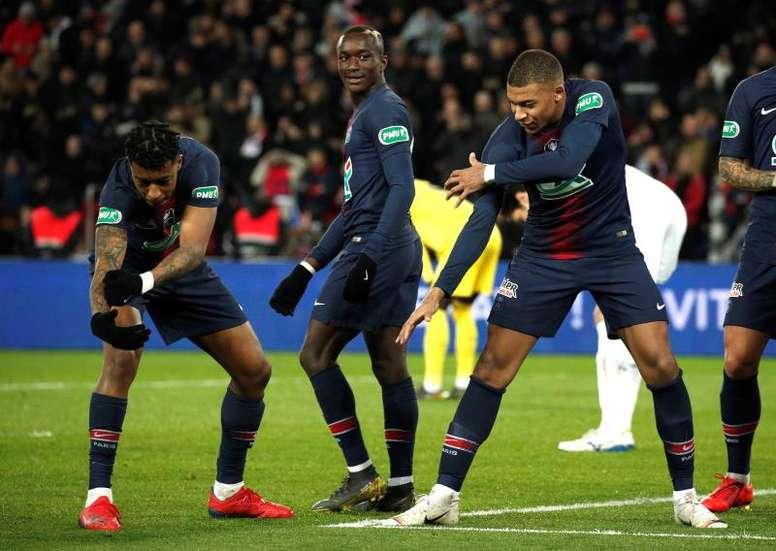 Diaby donne son prono pour Dortmund-PSG. EFE