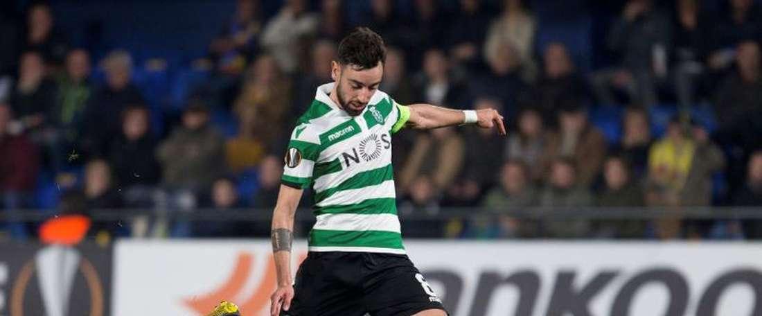 Goleada no Jamor com o Sporting a vencer por 1-8 o Belenenses. EFE
