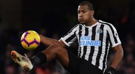 Salomon Rondon is Newcastle's player of the season this season. EFE/Archivo