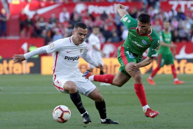 Roque Mesa jugará en el Leganés. EFE