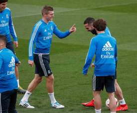 Kroos is unlikely to feature for Real against Leganes. EFE