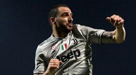 Bonucci renueva y jugará en la Juve hasta los 38 años. EFE